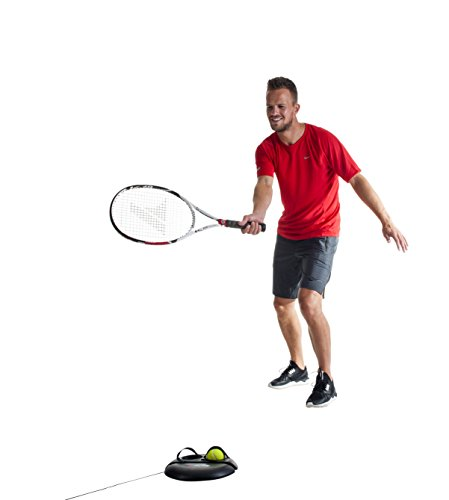 Pure 2Improve Tennis Trainer, bis 15m dehnbar, inkl. 2 Tennisbälle
