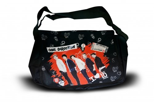 One Direction 'Red Messenger Bag