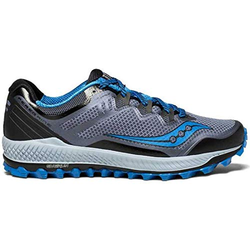 Saucony Peregrine 8 Men's Trail Running Shoes, Blue, UK10