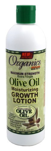 Africa's Best Organics Olive Oil Growth Lotion 160 ml (3-Pack) by Africas Best (English Manual)