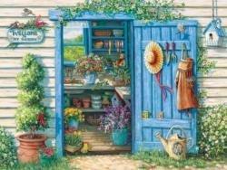 Cobblehill 57141 MO 500 Welcome to My Garden Rompecabezas, Varios