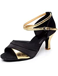 Amazon.es  zapatillas tacon - Seda  Zapatos y complementos 939379fc7829