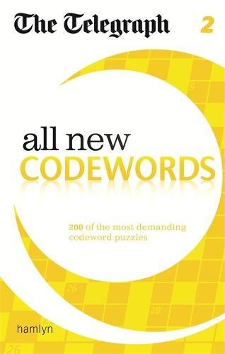 The Telegraph: All New Codewords 2 (The Telegraph Puzzle Books)