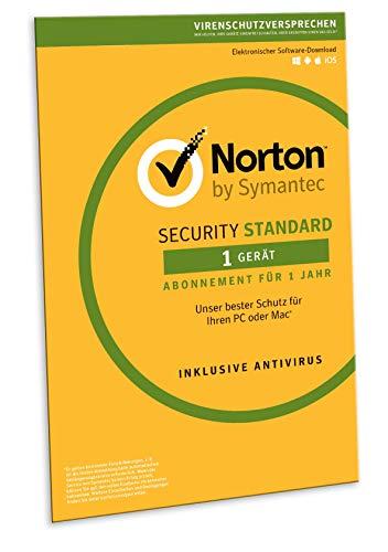 Norton Security Standard 2019 | 1 Gerät | 1 Jahr | Windows/Mac/Android/iOS | FFP | Download
