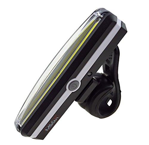 Led-Fahrradlichter-Set mit Akku, auch einzeln erhältlich / Ultrahelle Led-Fahrradlampe von MSGX, Fahrrad Licht mit 3 Leuchtstärken (+Blinkmodus), Extrem Helle Usb-Fahrradlampe für den täglichen Einsatz, Fahrradlicht-Kinder