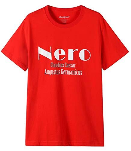 qingning Nero T-Shirt Cosplay Devil May 3D Drucken Spiel Shirt Kostüm (Ist Halloween-die S Geburtstag Devil)