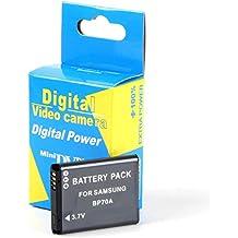 Disko - Batería BP70A EA-BP70A 750mAh para Samsung AQ100, ES65, ES70,