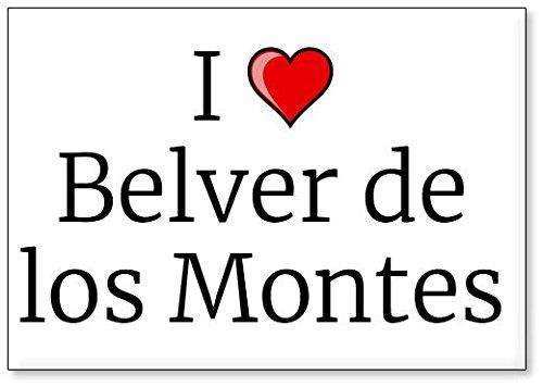 Mundus Souvenirs - Amo Belver de los Montes, Imán para Nevera (diseño 3)