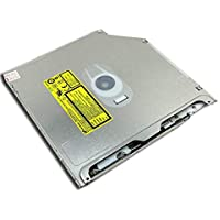 "Hitachi-LG GS23N / GS31N graveur DVD interne pour Apple MacBook Pro 13"" 15"", SuperDrive slim (9,5mm d'épaisseur), slot-in (mange-disque), type d'interface: SATA"