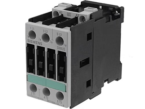 3RT1024-1AP00 Contactor3-pole 230VAC 12A NO x3 DIN on panel Size S0