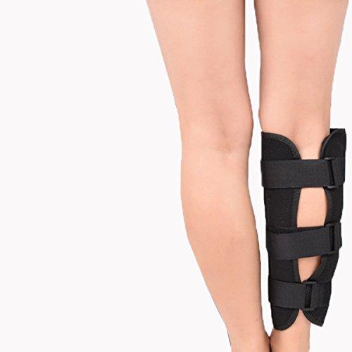 ULTNICE Schienbein schoner Schienbeinschützer Beinschützer für Verletzung Recovery Größe L