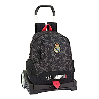 41IgAI5poKL. SS324  - Real Madrid CF- Real Madrid Trolley, Color Negro (SAFTA 611924860)