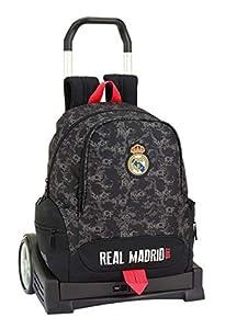 Real Madrid CF- Real Madrid Trolley, Color Negro (SAFTA 611924860)
