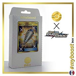 Perceuse dangereuse (Taladro Peligroso) 192/181 Entrenadore Secreta - #myboost X Soleil & Lune 9 Duo de Choc - Box de 10 Cartas Pokémon Francés