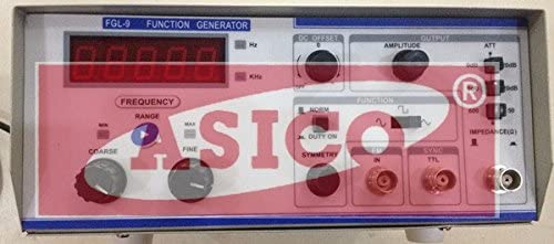 Function Generator 0.1Hz to 1MHz (with frequency counter)