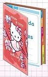 1 Agenda de textes HELLO KITTY - 16x22cm - 2 Visuels au choix