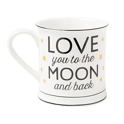 "Kaffeetasse ""Love you to the Moon and back"""""