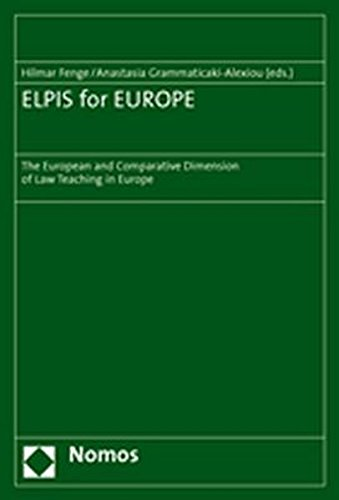 ELPIS for EUROPE: The European and Comparative Dimension of Law Teaching in Europe