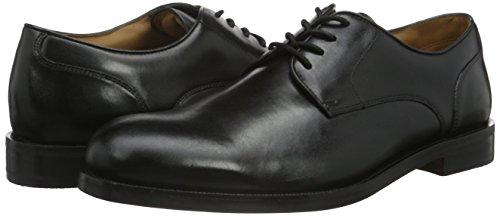 Clarks Coling Walk, Derby Homme Noir (Black Leather)