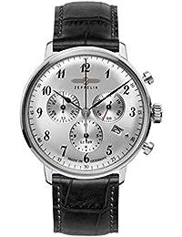 Zeppelin Unisex-Armbanduhr Chronograph Quarz Leder 7088-1