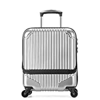 LYXPUZI Travel Bags Super Lightweight Hard Shell Travel Carry On Cabin Hand Luggage Suitcase with 4 Wheels, Boarding The Chassis Universal Wheel Trolley case Travel Totes Hand Luggage