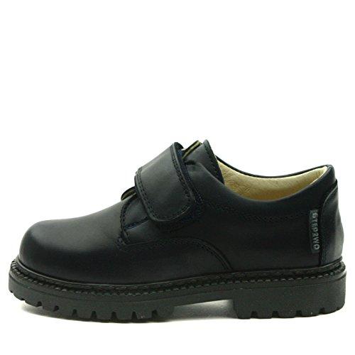 SIR Step2wo School Shoe Velcro Strap for Boys >      > École chaussures velcro pour les garçons Navy Blue (bleu)