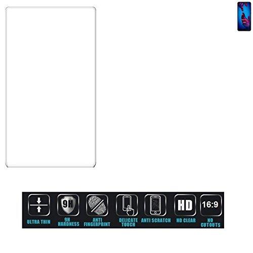 Für Huawei P20 Dual-SIM Schutzglas Glas Schutzfolie Glasfolie Bildschirmschutzfolie Bildschirmschutz Hartglas Tempered Glass Verb&glas für Huawei P20 Dual-SIM 16:9 Format, bedeckt nicht die Seitenb