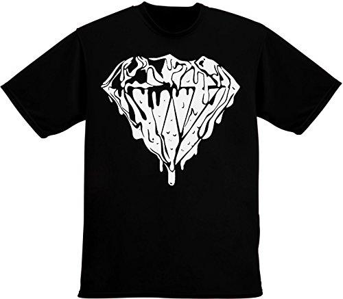 Liquid Diamond Design Men's T-Shirt