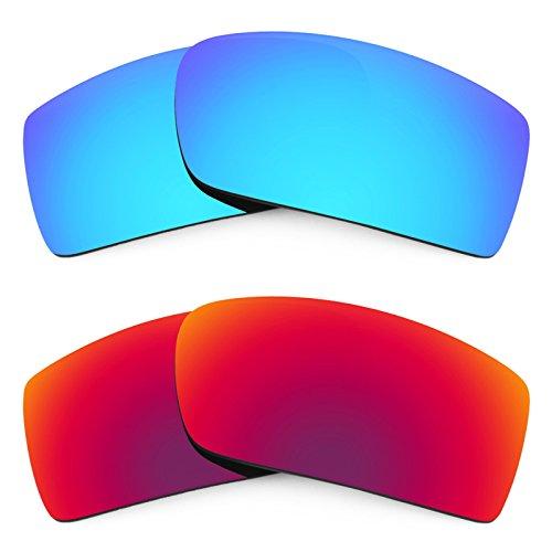 Revant Ersatzlinsen für Oakley Gascan Polarisiert 2 Paar Kombipack K005