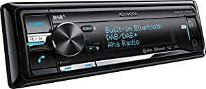 Kenwood KDC-BT73DAB Autoradio CD e USB, Colore Variabile