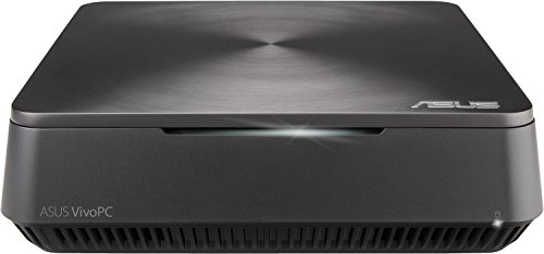 Asus VivoMini VM62-G108M Mini Desktop-PC (Intel Core i5-4210U, 8GB RAM, 1TB HDD, 128GB SSD, Free DOS) Iron Grey