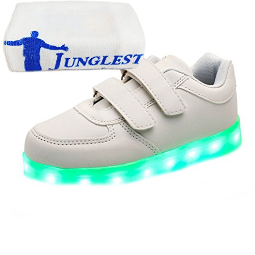 Kinder Weiß Leuchten present Led junglest® Usb Handtuch Unisex S Luminous Charing kleines R0xPRO8