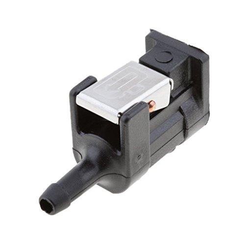 SGerste connecteur Femelle pour Réservoir de Carburant pour Moteurs Hors-Bord Yamaha 5/40,6 cm Noir