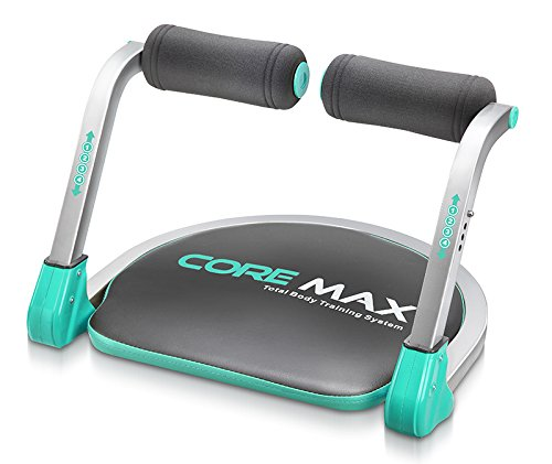 Core Max Unisex Total Body Training System Ab Exercise Trainer Home Gym Equipment, Blue, One Size