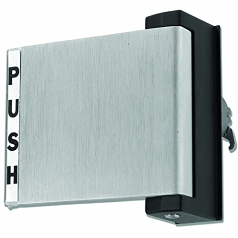 Global Door Controls Aluminum Store Front Push