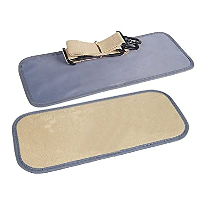 B-JOY Dog Box Car Dog Transport Box Transport Bag Handbag S M L Pet Dog Dog and Cat Airline Approved (L(45*18*30cm… 7