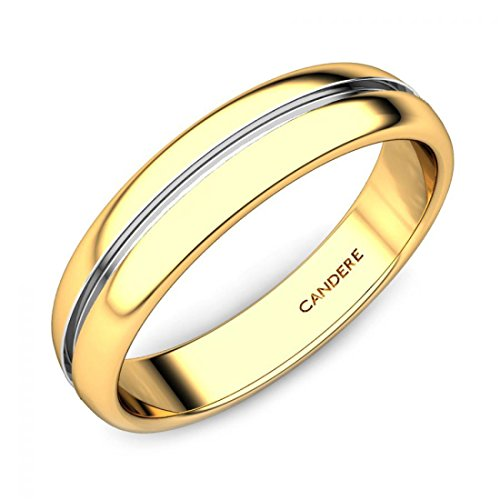 ( 1. ) Candere By Kalyan Jewellers 22k (916) Yellow Gold Ring for Women