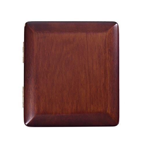Kalaok Holz Bassoon Reed Fall Kastanienbraun Hand geschnitzt Fagottrohr Box für 3pcs Schilf - Hand Geschnitzten Blättern