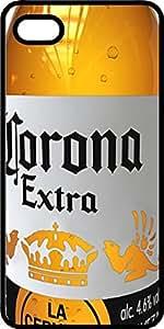 Mercer's Furniture Corona bière bouteille en plastique noir pour Apple iPhone 4ou iPhone 4S