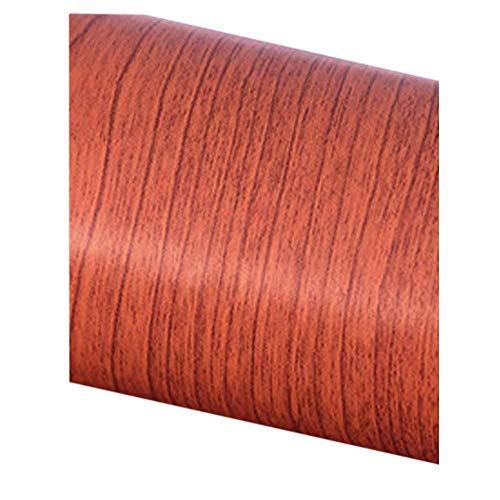 Popap Tapetenrolle, selbstklebende Schrankfolie, rote Kirschbaum-Holzstruktur, Möbel, Regaleinsatz, 60 x 48 cm - Rote Granit-arbeitsplatte