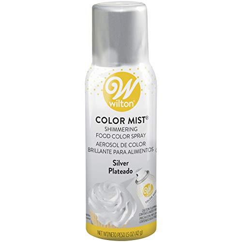 Wilton W710CMM-5521 Metallic Farbe Mist Spray 1,5 Unzen-Silber (Silber-farben-spray)