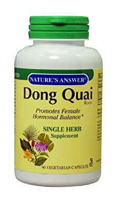 Nature's Answer Dong Quai Root - Promotes Female Hormonal Balance, 90 Vegicaps,(Nature's Answer) from Nature's Answer