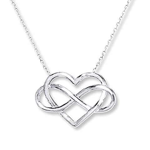 saysure – necklace Trendy infinity Necklace 925 Sterling Silver