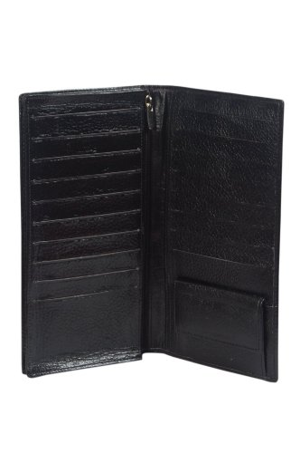 41IgT4r6gaL - Mens / Teen Boys Authentic Leather Passport Wallet ( Brown & Black )