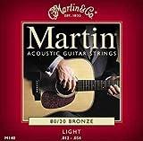 MARTIN WESTERNGITARRE BRONZE 80/20 LIGHT 12 16 25 32 42 54
