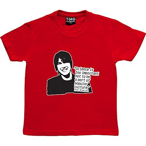 T34 Professor Brian Cox Kids' T-Shirt