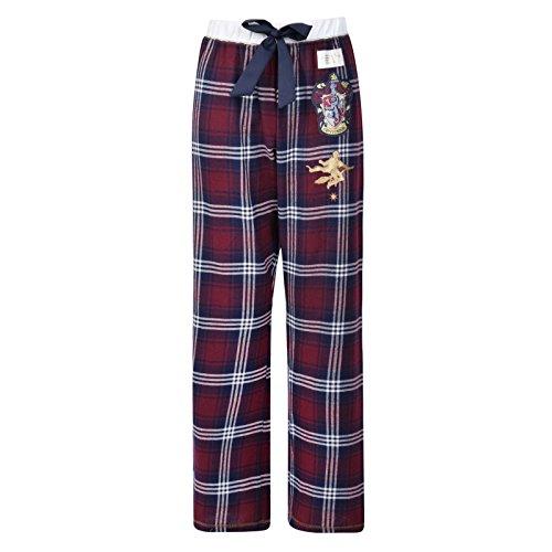Ex UK Store Ladies Pyjama Bottoms Harry Potter Womens PJ Pants Gryffindor Slytherin
