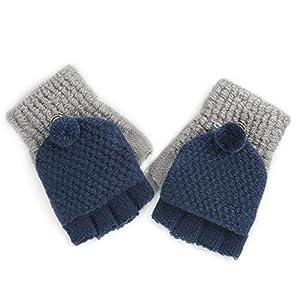 Wangcui Kinderhandschuhe für Baby Mädchen Jungen Kleinkinder Outdoor Sports Thermal Handschuhe (Farbe : D)