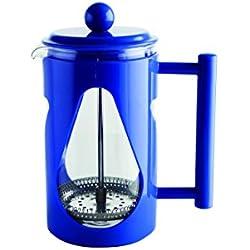 Quid Ceylon - Cafetera émbolo de 600 ml, color azul