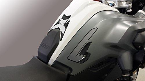uniracing 46024Tank Pad BMW R 1200GS 13-16, schwarz & grau -
